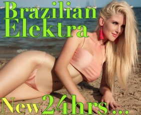 Elektra is a high class Brazilian Escort Sandyford